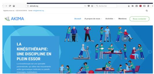 AKIMA website